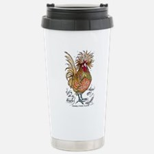 Chicken Feathers Travel Mug