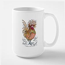 Chicken Feathers Mugs