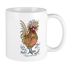 Chicken Feathers Mugs