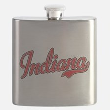 Indiana Script Font Red Flask