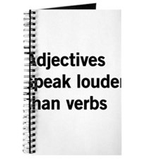 adjectives speak louder than words Journal