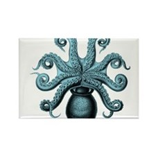 Teal Octopus Magnets