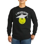 College Grad Personalized Long Sleeve Dark T-Shirt
