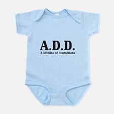A.D.D. a lifetime of distractions Body Suit