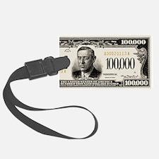 $100,000 dollar note Luggage Tag