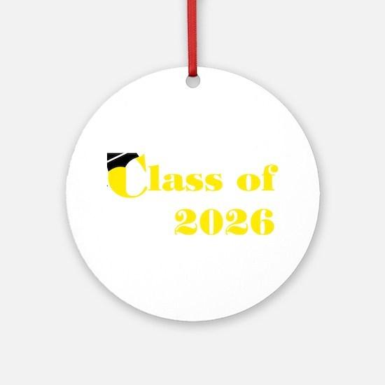 Class of 2026 Keepsake Ornament