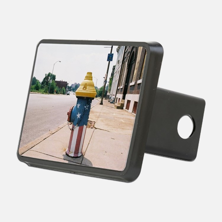 Broadway fire hydrant -STL Hitch Cover