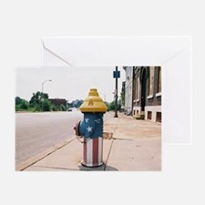 Broadway fire hydrant -STL Greeting Card
