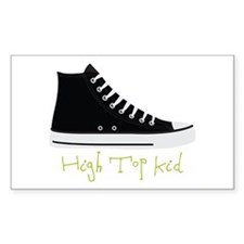 High Top Kid Decal