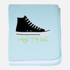 High Top Kid baby blanket