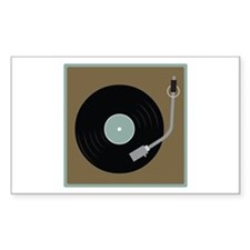 Record Player Decal