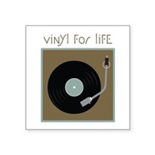 Vinyl For Life Sticker