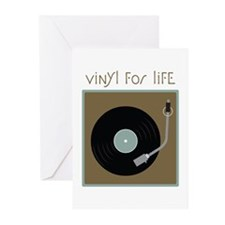 Vinyl For Life Greeting Cards