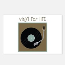 Vinyl For Life Postcards (Package of 8)