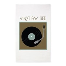 Vinyl For Life 3'x5' Area Rug