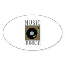 Music Junkie Decal