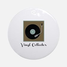 Vinyl Collector Ornament (Round)