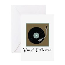 Vinyl Collector Greeting Cards
