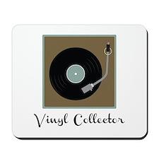 Vinyl Collector Mousepad