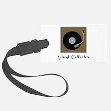 Vinyl Collector Luggage Tag