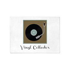 Vinyl Collector 5'x7'Area Rug