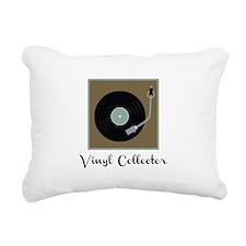 Vinyl Collector Rectangular Canvas Pillow