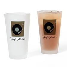 Vinyl Collector Drinking Glass