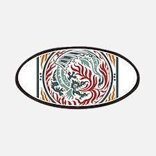 Art Nouveau Dragon Patches