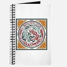 Art Nouveau Dragon Journal
