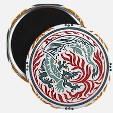 Art Nouveau Dragon Magnet