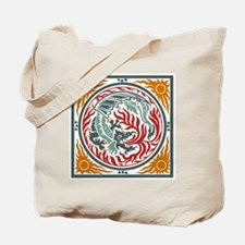 Art Nouveau Dragon Tote Bag
