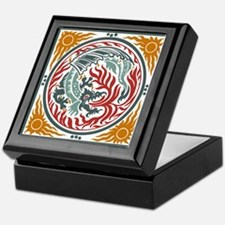 Art Nouveau Dragon Keepsake Box