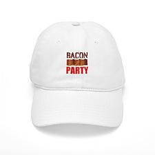Bacon Party Baseball Baseball Cap