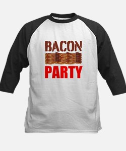 Bacon Party Baseball Jersey