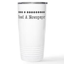 Cute Reporter Travel Mug