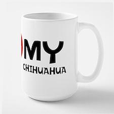 I Love My Chihuahua MugMugs