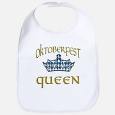 Oktoberfest Queen Crown Bib