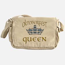 Oktoberfest Queen Crown Messenger Bag