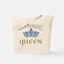 Oktoberfest Queen Crown Tote Bag