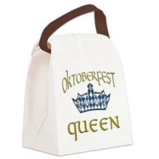 Oktoberfest Queen Crown Canvas Lunch Bag