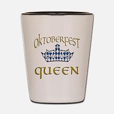 Oktoberfest Queen Crown Shot Glass