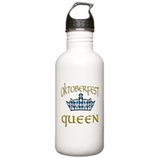Oktoberfest Queen Crow Water Bottle