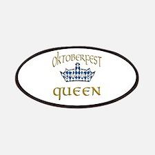 Oktoberfest Queen Crown Patches