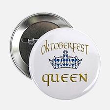 """Oktoberfest Queen Crown 2.25"""" Button (100 pack)"""