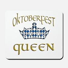 Oktoberfest Queen Crown Mousepad