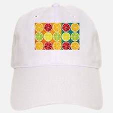 Assorted citrus pattern Baseball Baseball Baseball Cap