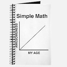 Simple Math Journal