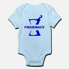 Blue Mortar and Pestle Infant Bodysuit