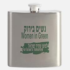 Women in Green Flask