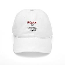 plumber here Baseball Cap